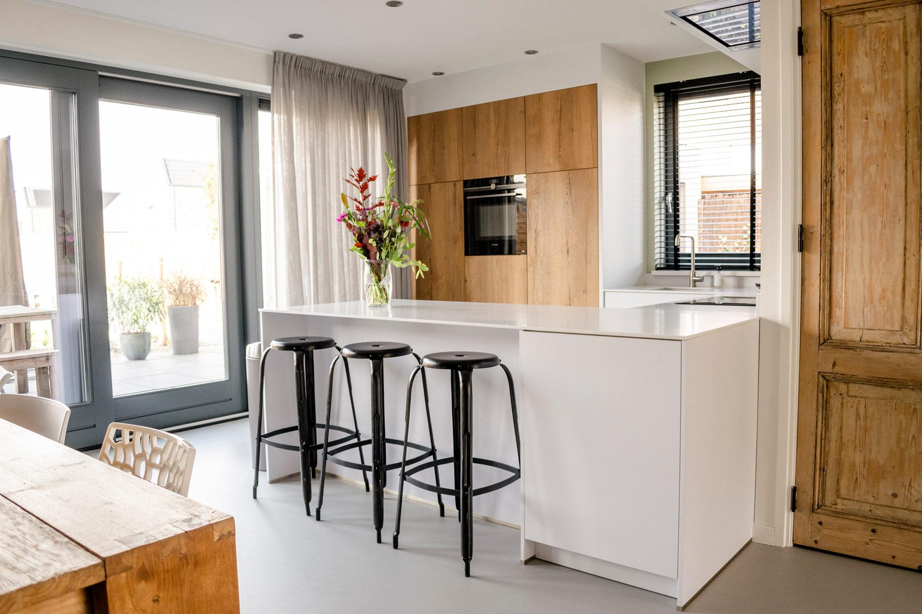 Aangepaste Hoog laag keuken Groningen