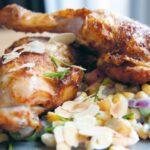 Recept: Kippenbout met groentesalade